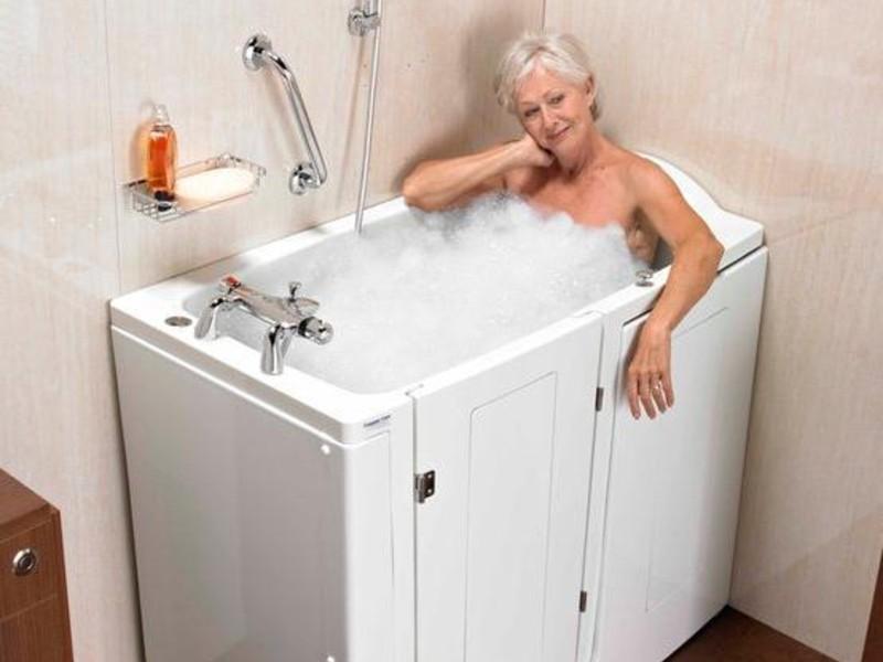 vasca bagno bassa per anziani disabili