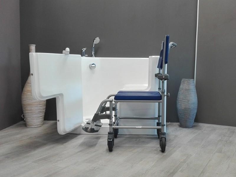 vasca per disabili con porta